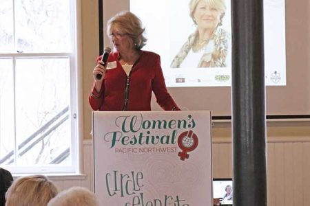 Obama Lifetime Achievement Winner and founding mother of International Women's Festival Patty DeDominic